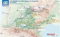 Des chemins vers Saint-Jacques de Compostelle en Occitanie