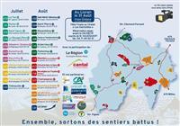 Tour du Cantal pédestre 2019